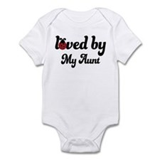 Loved By Aunt Infant Bodysuit