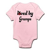 Loved By Gramps Ladybug Infant Bodysuit