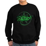 Atheist Green Sweatshirt (dark)