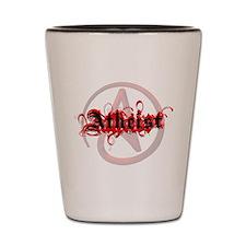 Atheist Red Shot Glass