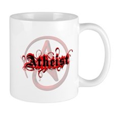 Atheist Red Mug