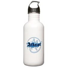 Atheist Blues Water Bottle