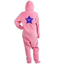 star-gabriella.png Footed Pajamas