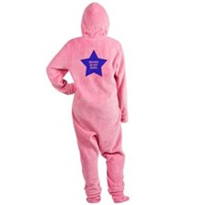 star-irene.png Footed Pajamas