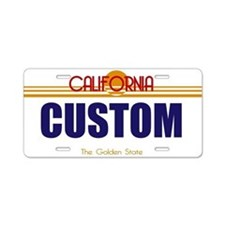 California - Golden State Custom License Plate V2