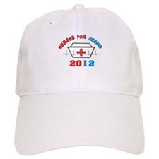 Nurses For Obama.PNG Baseball Cap