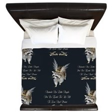 Animals Are Little Angels King Duvet