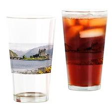 Eilean Donan castle 4815 , Scotland Drinking Glass
