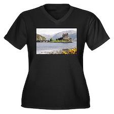 Eilean Donan castle 4815 , Scotland Women's Plus S