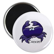 "Purple Cancer Crab 2.25"" Magnet (10 pack)"