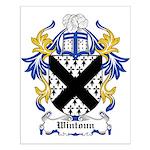 Wintoun Coat of Arms Small Poster