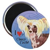 Chinese Crested Magnet