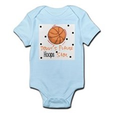 Daddy's Future Hoops Star Baby Body Suit