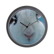 Hotot Dwarf Bunny Rabbit cute nose Wall Clock