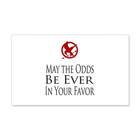 Hunger Games 20x12 Wall Decal