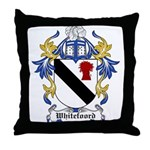 Whitefoord Coat of Arms Throw Pillow