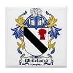 Whitefoord Coat of Arms Tile Coaster