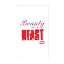 Beauty and a beast Decal