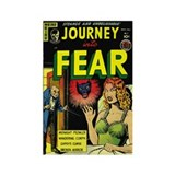 Journey Into Fear #3 Rectangle Magnet