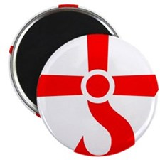 "CROSS OF KRONOS (MARS CROSS) Red 2.25"" Magnet (10"