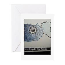 ONU Cog Wheel Art Greeting Cards (Pk of 20)