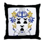 Wawane Coat of Arms Throw Pillow