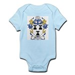 Wawane Coat of Arms Infant Creeper