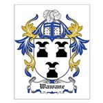 Wawane Coat of Arms Small Poster