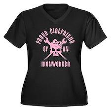 Proud Girlfriend of an Ironworker - PINK Women's P