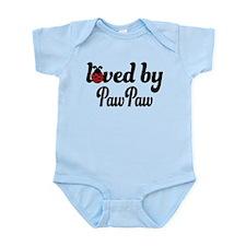 Loved By PawPaw Ladybug Infant Bodysuit