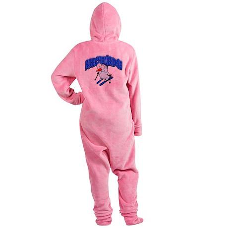 Breckenridge Snowman.png Footed Pajamas