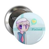 "Cute Finland 2.25"" Button"