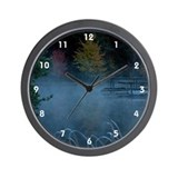 A foggy pond off Exit 72, 84E Wall Clock