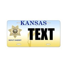 Kansas Deputy Sheriff Custom License Plate