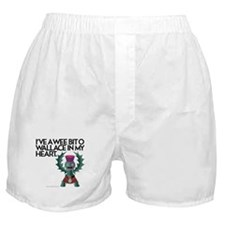 Wallace's Heart Boxer Shorts