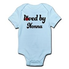 Loved By Nonna Ladybug Infant Bodysuit