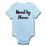 Loved By Nonna Ladybug Onesie