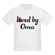 Loved By Oma Ladybug T-Shirt