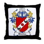 Waston Coat of Arms Throw Pillow