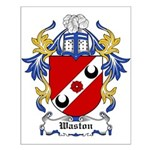 Waston Coat of Arms Small Poster