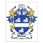 Warner Coat of Arms Small Poster