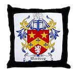 Wardrop Coat of Arms Throw Pillow
