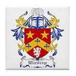 Wardrop Coat of Arms Tile Coaster