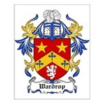 Wardrop Coat of Arms Small Poster