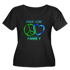 Peace Love Family T