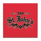 St Johns 709 Tile Coaster