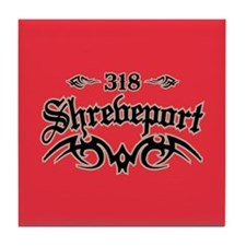 Shreveport 318 Tile Coaster