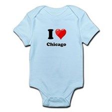 I Heart Love Chicago.png Infant Bodysuit