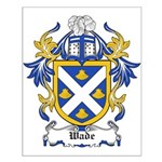 Wade Coat of Arms Small Poster