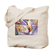 Sleeper Cat Tote Bag
